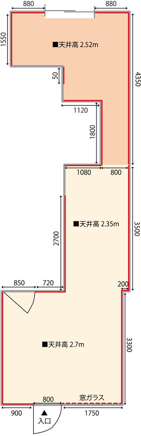 そらプラス 大阪 見取り図